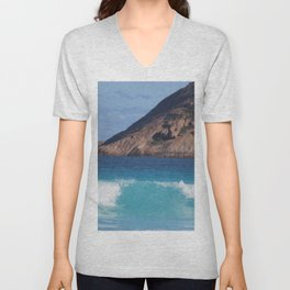 Lucky Bay, Cape Le Grand National Park Unisex V-Neck