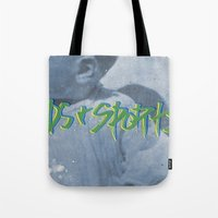 sports Tote Bags featuring KIDS & SPORTS! by Josh LaFayette