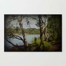 The Mighty Murray River Canvas Print