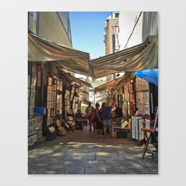 Art Market Canvas Print