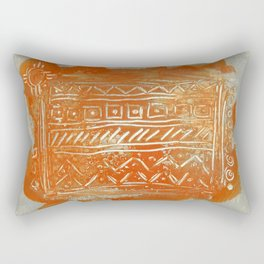 Bittersweet Tribal Rectangular Pillow