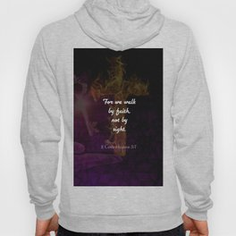2 Corinthians 5:7 Bible Verse Quote About Faith Hoody