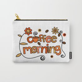 Coffee Morning Carry-All Pouch