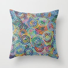Hoopla Throw Pillow