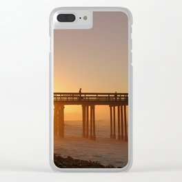 Ventura Pier at Sunet Clear iPhone Case