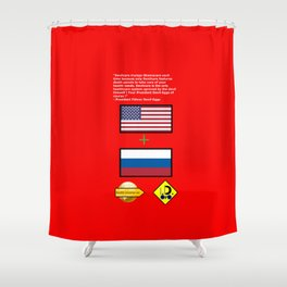 Devilcare Shower Curtain