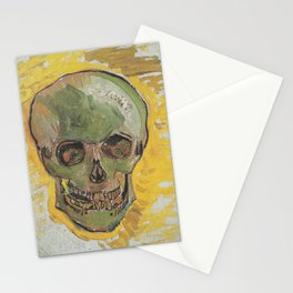 SKULL - VINCENT VAN GOGH Stationery Cards