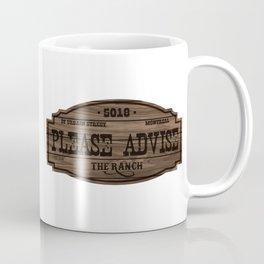 The Ranch Sign Coffee Mug