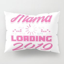 Baby Is Loading Boy Girl For Mom Announcement Gift Pillow Sham