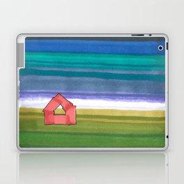 American Farm Landscape Blue Stripes 82 Laptop & iPad Skin