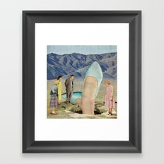 Thigh-Curious Framed Art Print