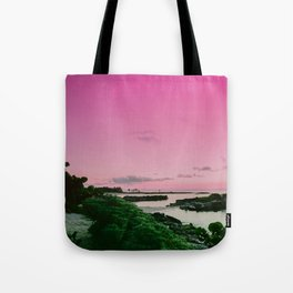Pink Sky in Mexico Tote Bag