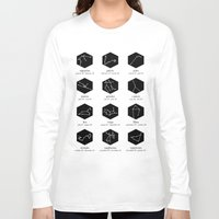 zodiac Long Sleeve T-shirts featuring Zodiac by Dorothy Leigh