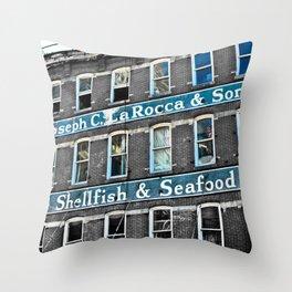 Shellfish & Seafood  Throw Pillow