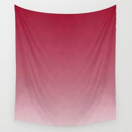 Pattern in Red Wall Tapestry