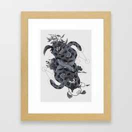 The Panoply Plate 07 Framed Art Print