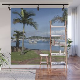 Boats in the Bay Wall Mural