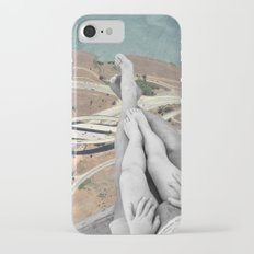 Up in the air iPhone 7 Slim Case