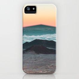Mauna Kea Shadow iPhone Case