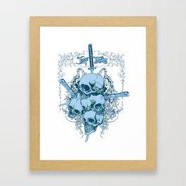 Katanas Framed Art Print