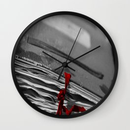 Book Knock Wall Clock