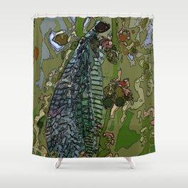 Damsel Fly Shower Curtain