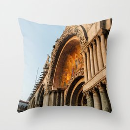 St Marco's Throw Pillow