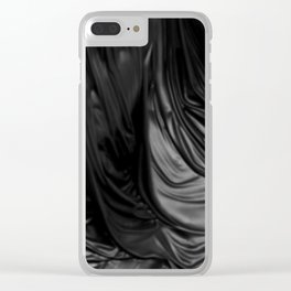 Black Mass Clear iPhone Case