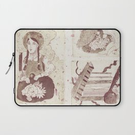 Anne Of Green Gables Brown Laptop Sleeve