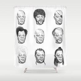 Samuel L. Jackson Shower Curtain