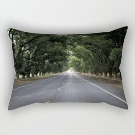 A nice summer evening drive Rectangular Pillow