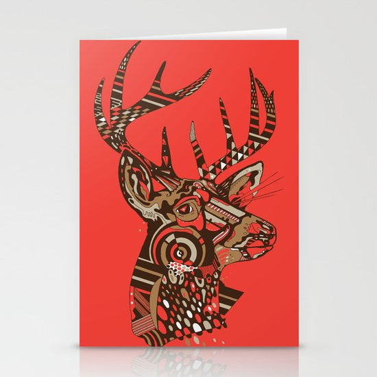 ROAD KILL ~ RED Stationery Cards