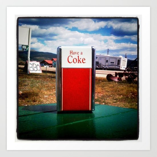 Have a Coke Art Print