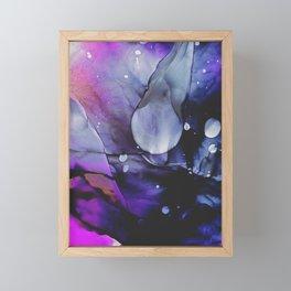 A Violet Gaze Framed Mini Art Print
