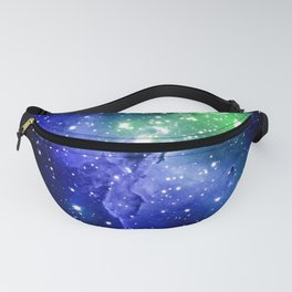 Eagle Nebula Blue Green Fanny Pack
