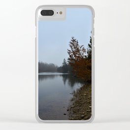 Gloomy Day Clear iPhone Case