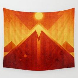 Mars - Olympus Mons Wall Tapestry