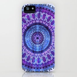 Hydrangea Mandala iPhone Case