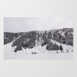 White Winterscapes III Rug
