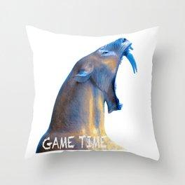 Hear Me Roar - Game Time Throw Pillow