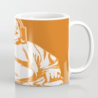 buddah Mugs featuring Buddah Beats by ALLGOLD Creative