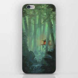 A Lonely Home iPhone Skin