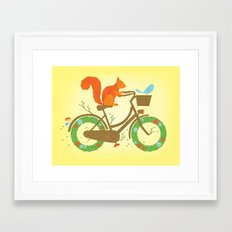 Natural Cycles Framed Art Print