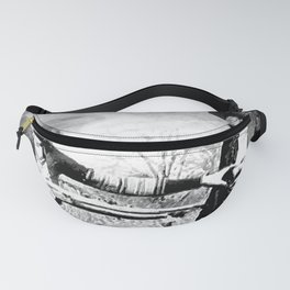 Painting Of Bonnie and Clyde Mock Robert Photo Fanny Pack