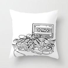 Relax & Unwind on white Throw Pillow