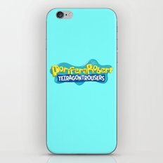 PoriferaRobert TetragonTrousers iPhone & iPod Skin
