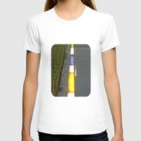 library T-shirts featuring Library Line  by Ethna Gillespie
