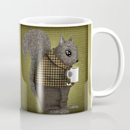 An Early Morning For Mister Squirrel Coffee Mug