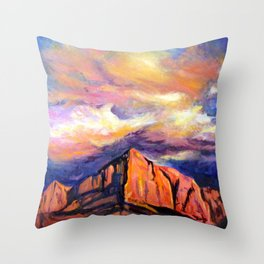 Channeling Georgia Throw Pillow