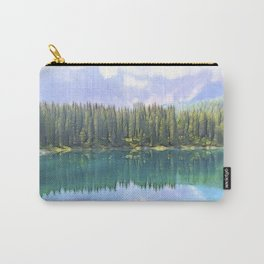 landscape blue lake in the mountain Carry-All Pouch